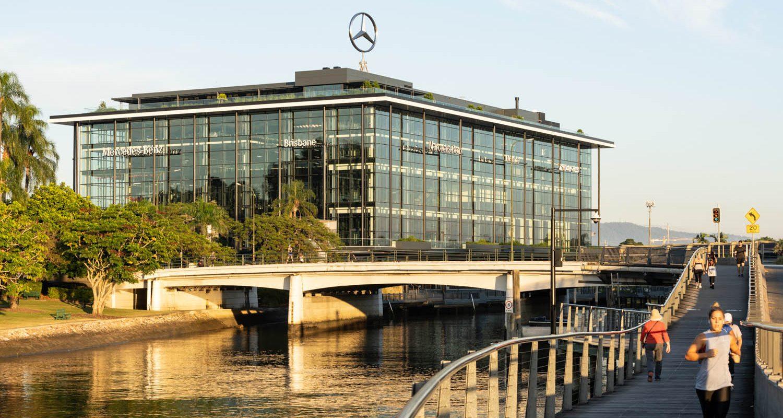 Mercedes Benz Lifestyle Precinct